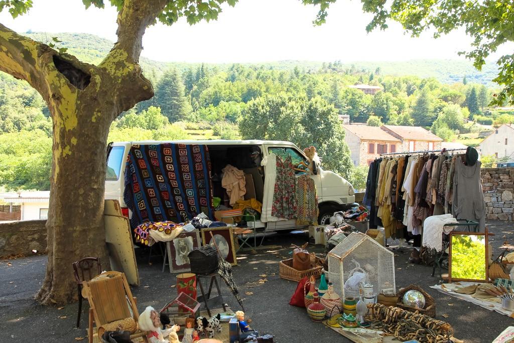 Rommelmarkt Zuid-Frankrijk