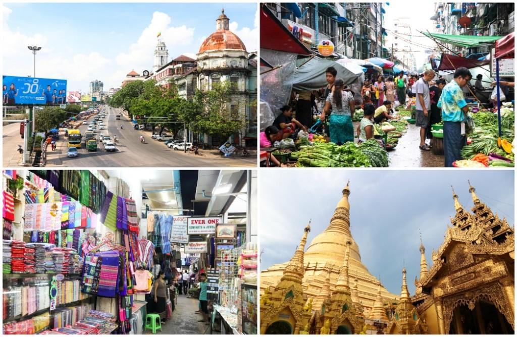 route myanmar bezienswaardigheden