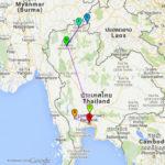 3 weken Thailand: route en planning