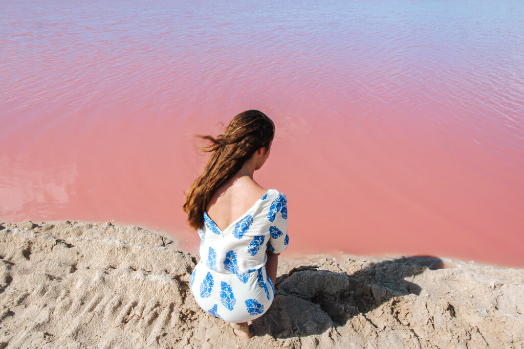 roze meer mexico