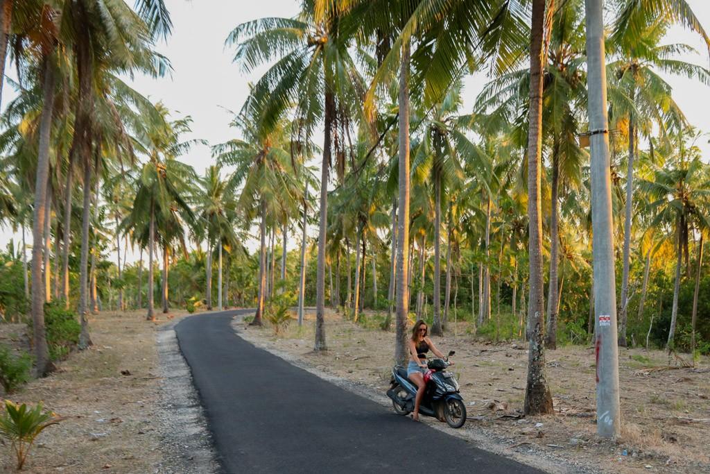 scooter rijden nusa penida bali