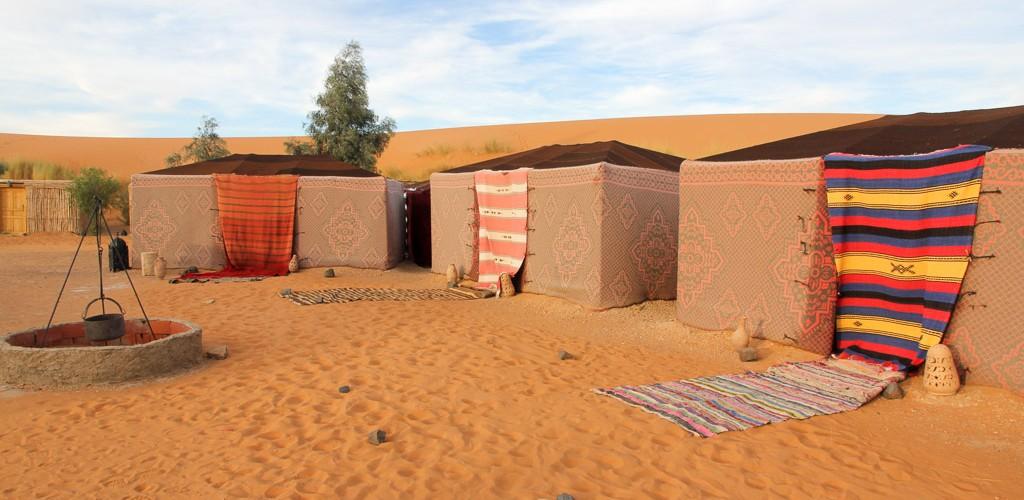 slapen in woestijn marokko