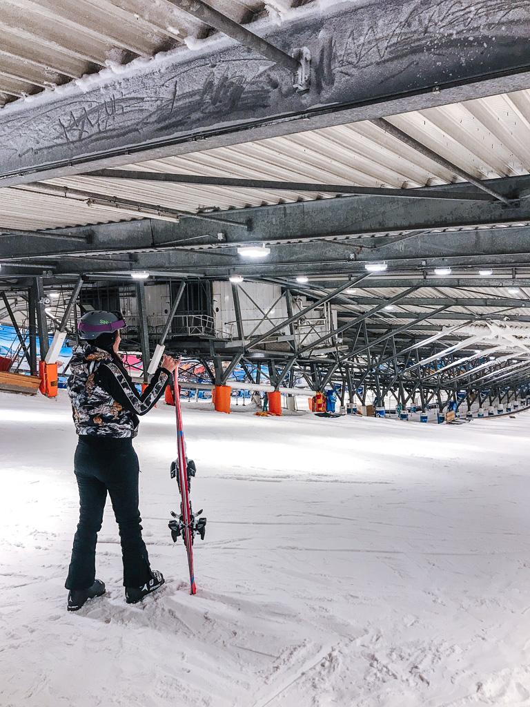 voor het eerst skien les