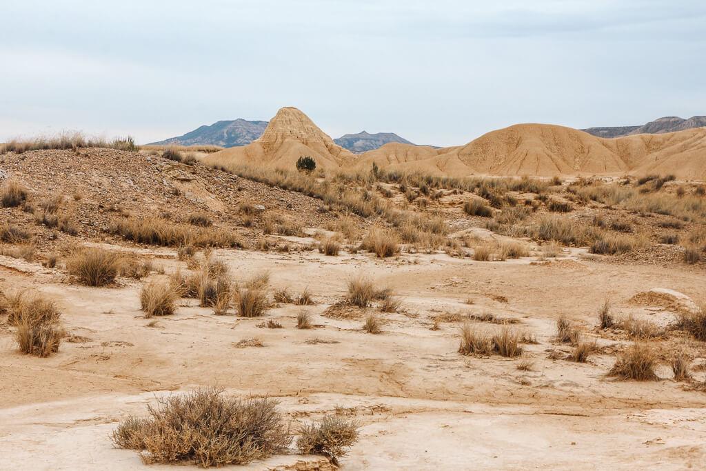 spanje bardenas reales woestijn