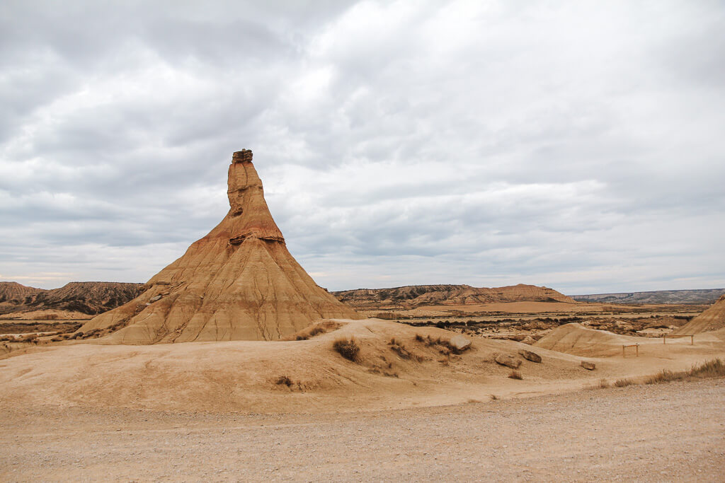 woestijn spanje bardenas reales