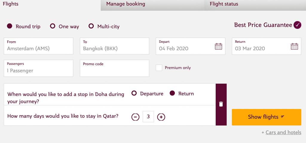 stopover doha tips