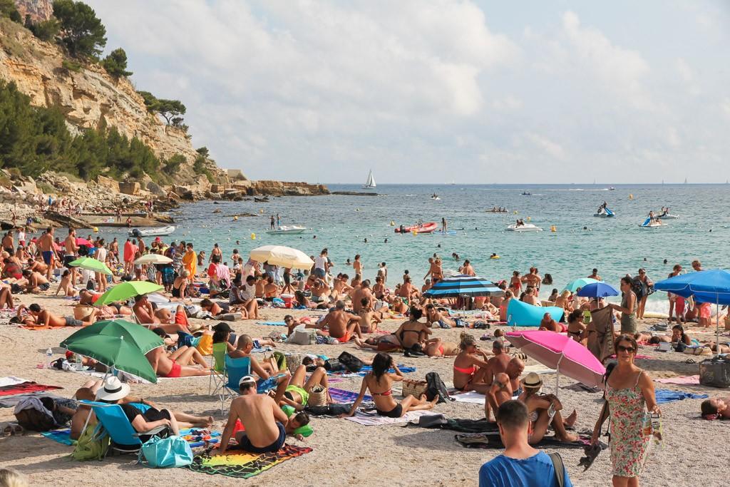 stranden cassis frankrijk