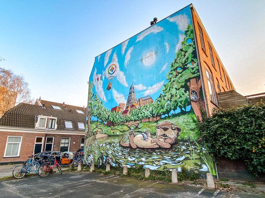 street art in utrecht