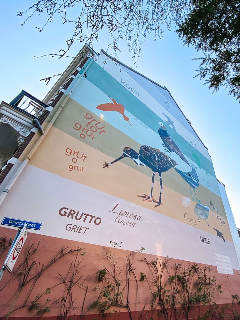 street art vogelenbuurt
