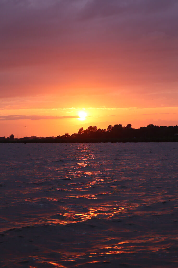 sunsetcruise friesland