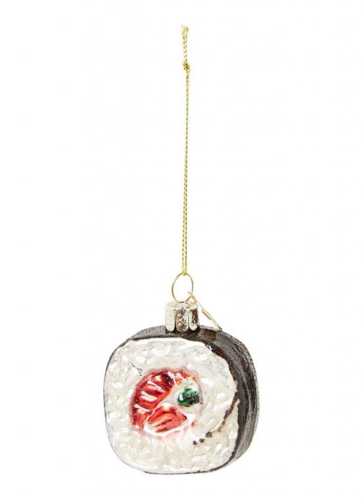 sushi kerstballen