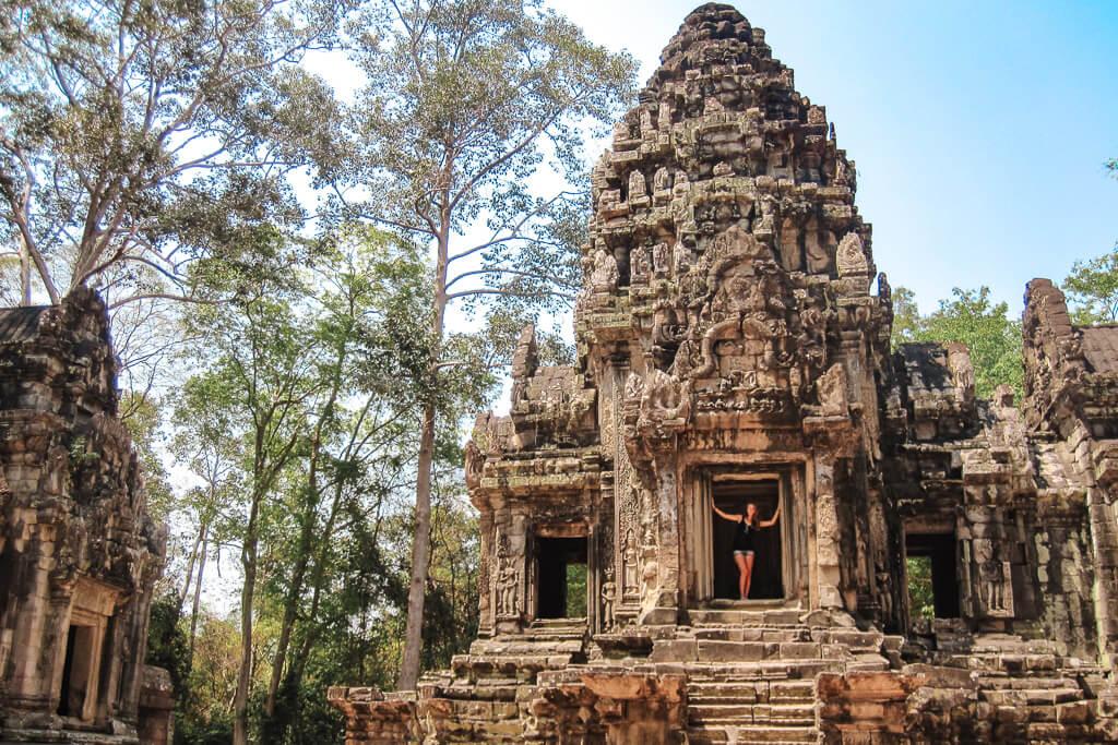 onbekende tempels angkor
