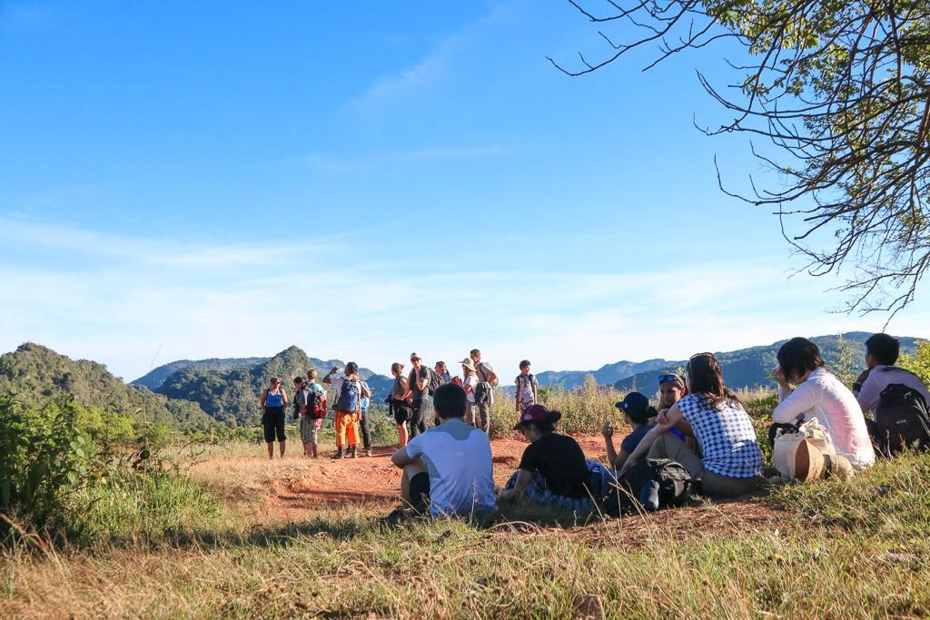 trekking myanmar kalaw