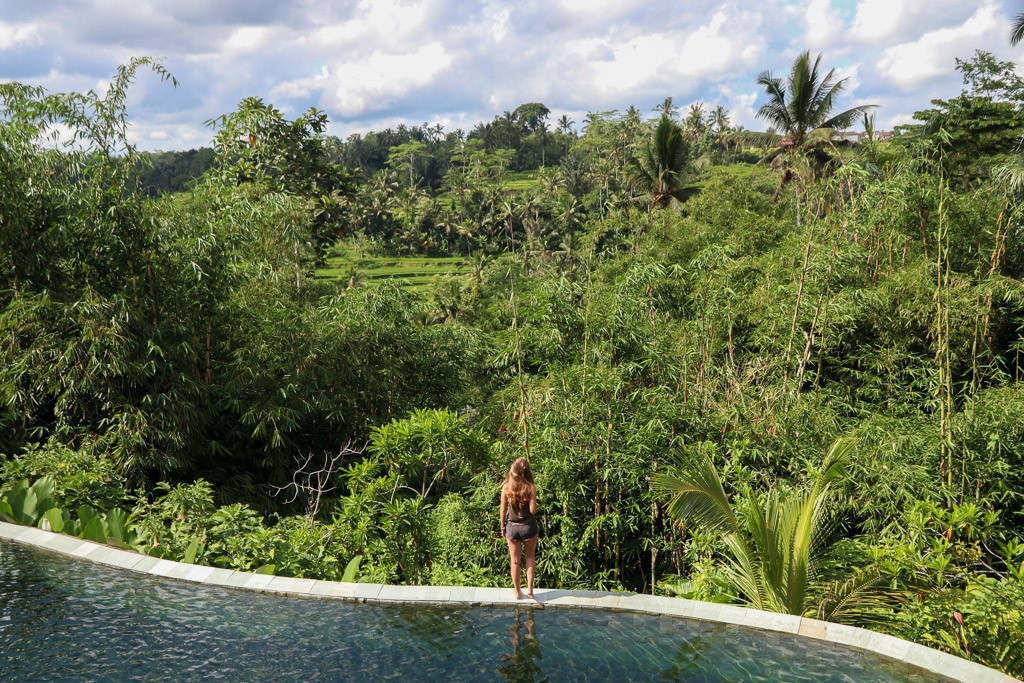 ubud infinity pool sebatu sanctuary