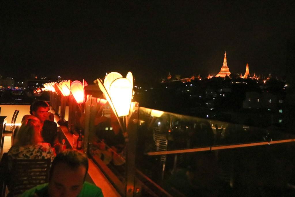 Vista Rooftop Bar Yangon