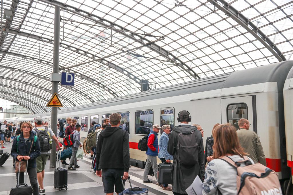 berlijn met de trein