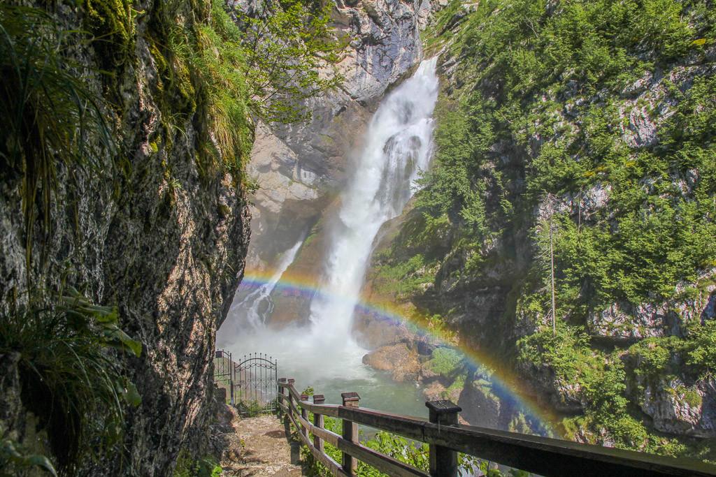 watervallen slovenie