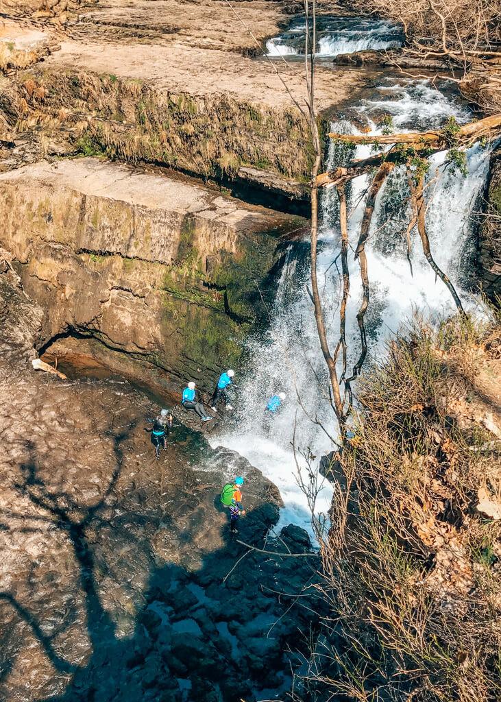 watervallen wales