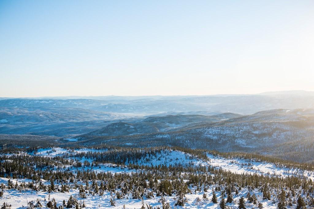 Wntersport Norefjell Noorwegen