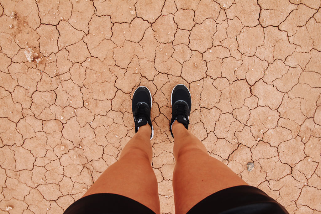 woestijn in spanje