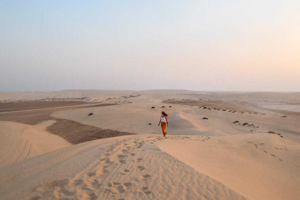 woestijntour qatar